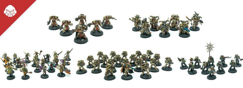 Showcase: Death Guard Infantry