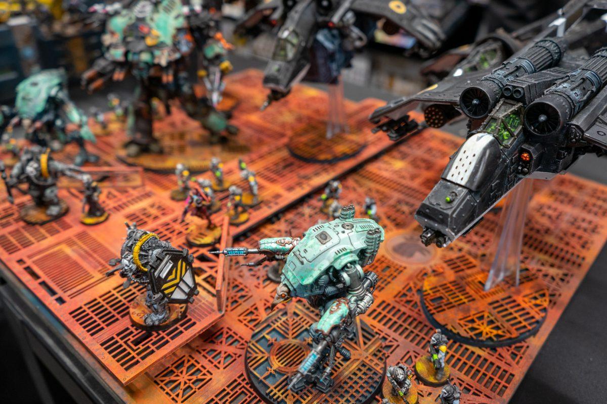 Daniel's Tempestus Scions & Imperial Knights
